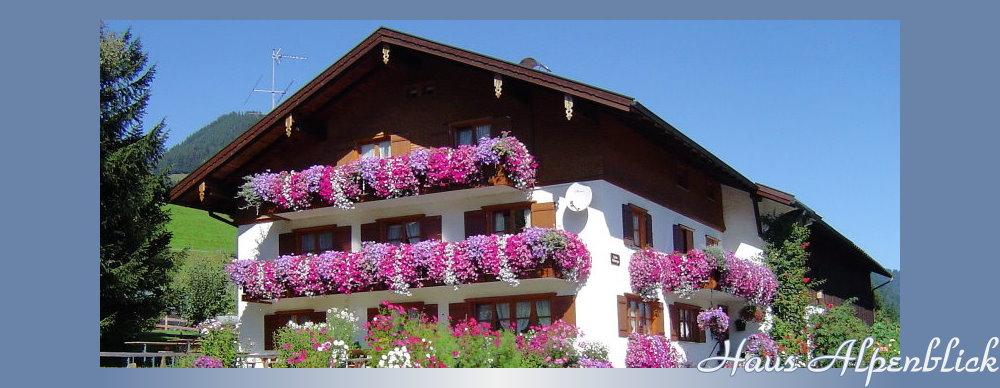 Obermaiselstein, Ferienwohnungen im Haus Alpenblick im Oberallgäu